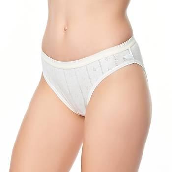 3 lü Paket Tutku Bayan Jakarlý Bikini Külot