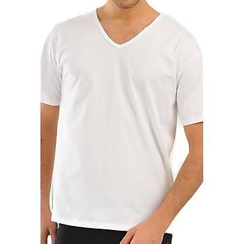 2 li Eros V Yaka T-Shirt Erkek V Yaka Atlet 039