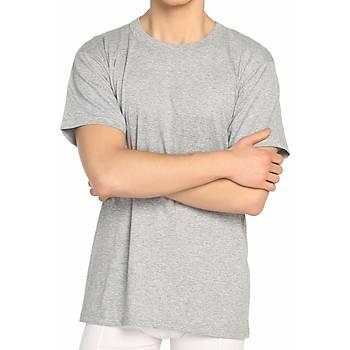 6 Adet Mevsim Erkek Renkli Penye Sýfýr Yaka Fanila Atlet 34304