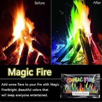 Sihirli Kamp Ateþi Tozu - Magic Fire