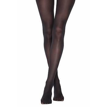6 lý Paket Penti Mikro 40 Bayan Külotlu Çorap Opak Muz Çorap