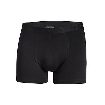 6 Adet Yýldýz Erkek Modal Likralý Boxer Short Siyah 40
