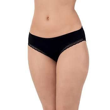5 Adet Lüx Drm Bayan Ýnce Dantelli Likralý Bikini Külot Slip 2001