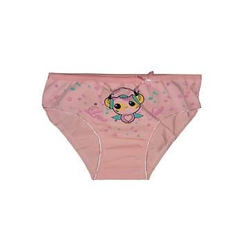 12 Adet Sedef Yýldýz Kýz Çocuk Ýnce Lastik Likralý Bikini Külot