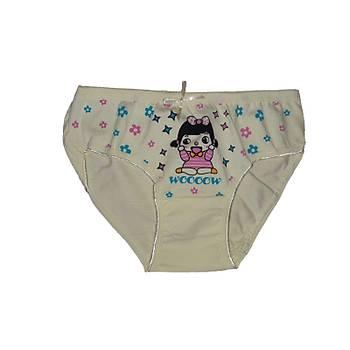 Sedef Yýldýzý Kýz Çocuk Ýnce Lastik Bikini Külot Tekli