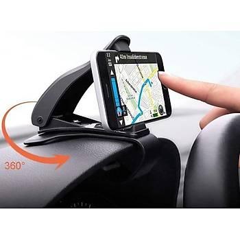 360 Oynar Araba Gösterge Üstüne Takýlan Telefon Tutucu