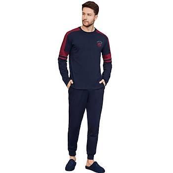 Mecit 2752 Erkek Spor Uzun Kol Pijama Takýmý