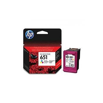 HP C2P11AE Renkli Mürekkep Kartuþ (651)