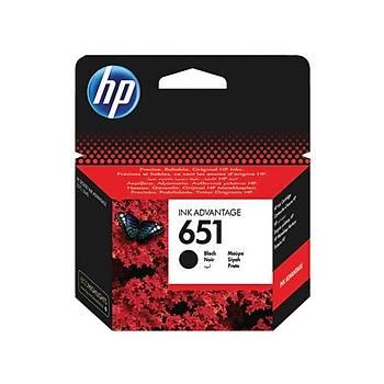 HP C2P10AE Siyah Mürekkep Kartuþ (651)