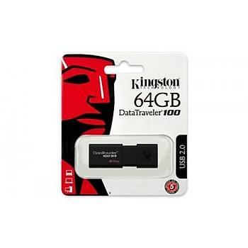 Kingston 64GB Usb3.0 Bellek DT100G3/64GB