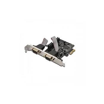Digitus DS-30000-1  2 Port Seri PCI Express Kartý