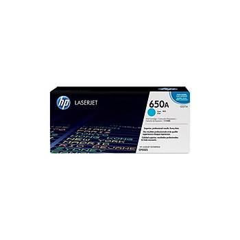 HP CE271A Mavi Renkli Toner 650A