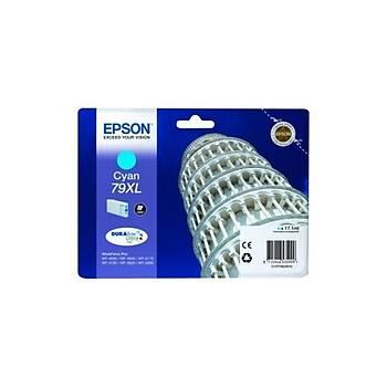 Epson C13T79024010 Mavi Mürekkep Kartuþ (79XL)