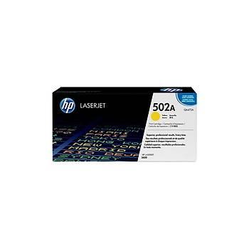 HP Q6472A Sarý Renkli Toner 502A