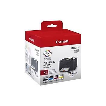 Canon PGI-1500XL BK/C/M/Y  Mürekkep Kartuþ