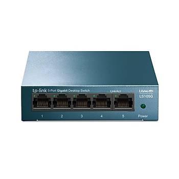 Tp-Link LS105G 5 Port Gigabit Desktop Steel Case*