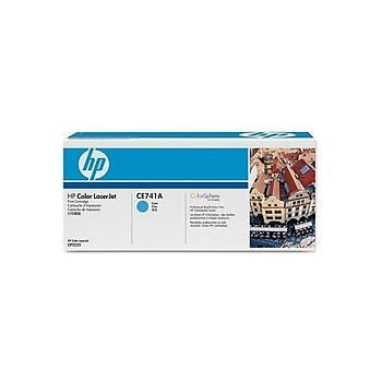 HP CE741A Mavi Toner Kartuþ (307A)