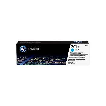 HP CF401X Mavi Toner (201X)