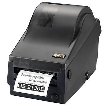 Argox OS-2130D Barkod Yazýcý 203 Dpi