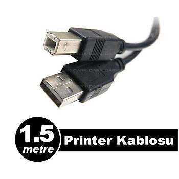 Dark DK-CB-USB2PRNL150 1.5Mt USB 2.0 Yazcý Kablosu