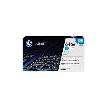 HP CF031A Mavi Renkli Toner 646A
