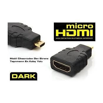 Dark Micro HDMI - HDMI Dönüþtürücü Cep Telefonu