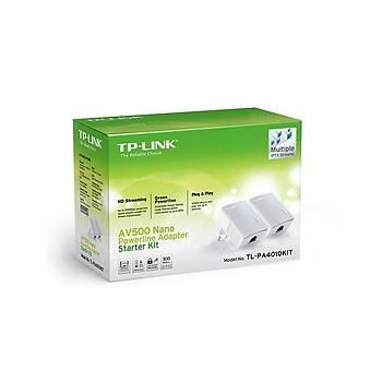 Tp-Link TL-PA4010KIT AV600 Nano Powerline Adapter