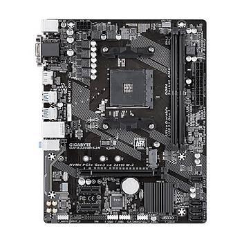 Gigabyte GA A320M S2H AM4 Ryzen DDR4 Hdmi Usb3.1