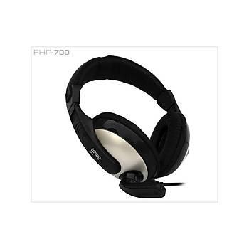 Frisby FHP-700 Mikrofonlu Siyah Kulaklýk