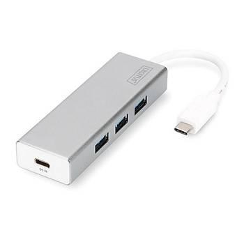 Digitus DA-70242-1 USB Typ-C to USB 3.0 x3-USB 3.1