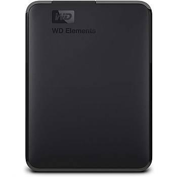 """WD 5TB Elements 2.5"""" Usb3 Siyah WDBU6Y0050BBK-WESN"""