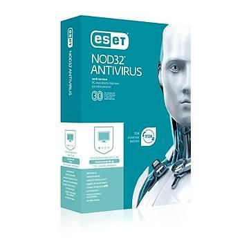 ESET NOD32 Antivirüs (1 Kullanýcý Kutu)