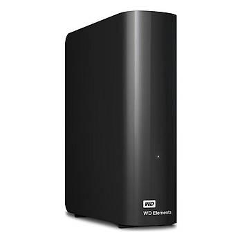 """WD 6TB Elements 3.5"""" Usb3 Siyah WDBWLG0060HBK-EESN"""