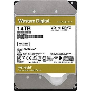 WD 14TB Gold 3.5'' 7200Rpm 512MB Sata3 WD141KRYZ