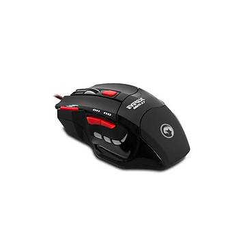 Everest SGM-X7 Usb Siyah Gaming Mouse Pad ve Mouse