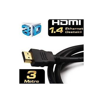 Dark DK-HD-CV14L300A90 3 Metre HDMI Kablo Altýn