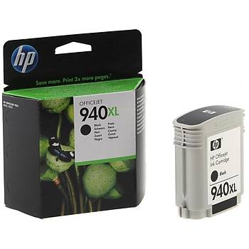 HP C4906AE Siyah Mürekkep Kartuþ (940XL)