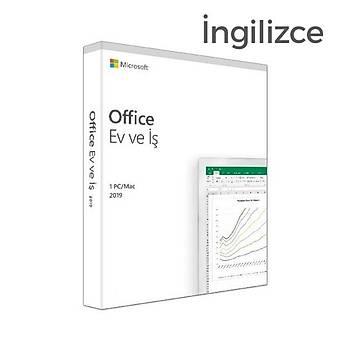 MS Office 2019 Ev ve Ýþ Ýngilizce Kutu T5D-03219