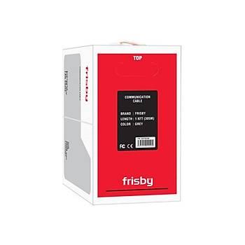 Frisby FR-CAT5E09 CAT-5E 305m 24 Awg Gri Kablo