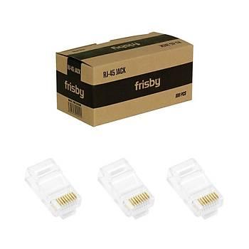 Frisby FNW-RJ4519N UTP Cat5 RJ45 Konnektör 100