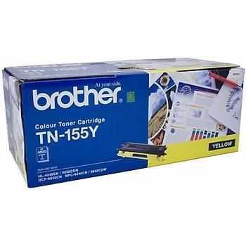 Brother TN-155Y Sarý Toner