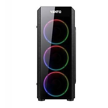 Vento VG04F RGB Gaming Midi Tower (Psu yok)