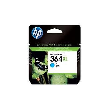 HP CB323EE Mavi Mürekkep Kartuþ (364XL)