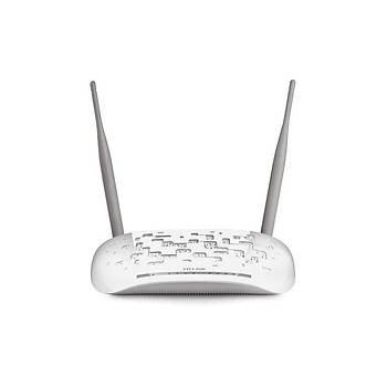 Tp-Link TD-W8961N 300Mbps 4P ADSL2+ Modem Router