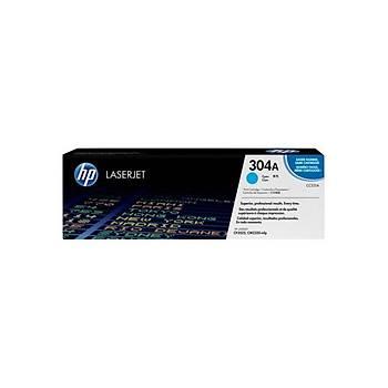 HP CC531A Mavi Toner Kartuþ (304A)