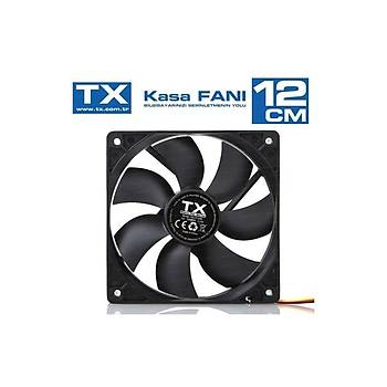 TX TXCCF12BK 12cm Sessiz Kasa Faný