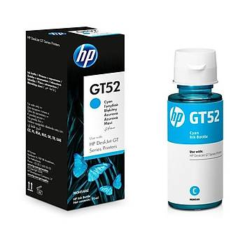 HP M0H54A Mavi Renkli Mürekkep Kartuþ (GT52)