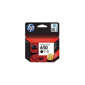 HP CZ101AE Siyah Mürekkep Kartuþ (650)