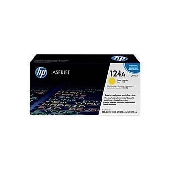 HP Q6002A Sarý Renkli Toner 124A