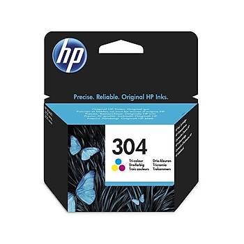 HP N9K05AE CMY Mürekkep Kartuþ (304)